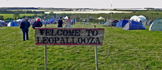 Morning from a great festival in north Cornwall. @LEOPALLOOZA is on today & tomorrow, tickets available on gate for £40
