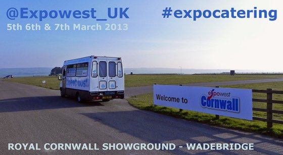 Expowest Cornwall - Catering and hospitality trade event.