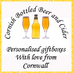 Twitter Bio - Cornish Bottled Beer and Cider is an online shop showcasing an extensive range of Cornish real ales and ciders.