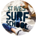 Twitter Bio - St Ives' only Surf School, located directly infront of the iconic 'Tate Gallery' and a stones throw away from the town centre. Call 01736 793938 for info.